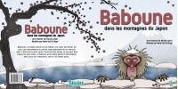 """Livre papier """"Baboune dans les montagnes du Japon"""" écrit par Nicole Lebel et illustré par Marie-Sol St-Onge"""