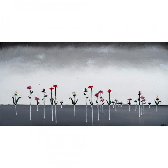 """Reproduction de la toile """"Ensemble"""" de Marie-Sol St-Onge"""