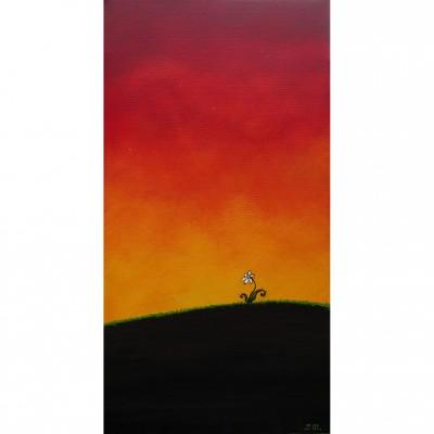 """Reproduction de la toile """"Singulière"""" de Marie-Sol St-Onge"""